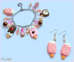 Sweet Ice cream Set by BaziKotek