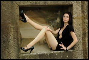 Kathryn - black in the box 4 by wildplaces