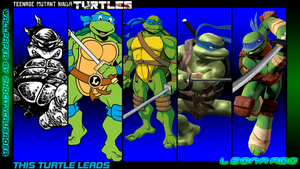 TMNT Generations Wallpaper - Leonardo by 2ndCityCrusader