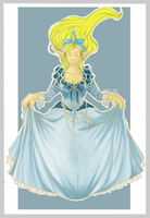 Lol - SS - Janna's Dress by Khalia1114