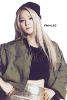 Hyoyeon PNG Render by fainleo