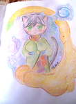 OC challenge - OC with tail and ears by Tomichu