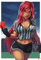 Red Card Kat by ParSujera