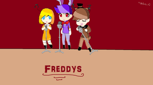 Fnaf chibis by nightcoreXpewds