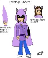 FoxMage!Sheera by HinataFox790