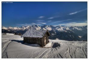 Alpine Hut with a View by stetre76