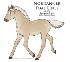 378 - Recreation - Nordanner Foal Design by Ikiuni