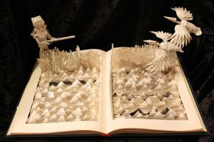 Duck Dynasty Book Sculpture by wetcanvas