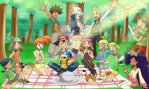 Poke Picnic reunion by Jeffanime