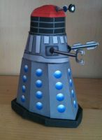Paper Dalek completed by gfoyle
