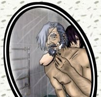 groovy shaving finished by Okina-tyan