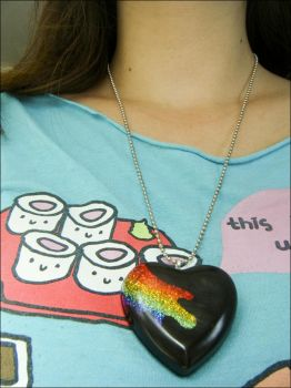 Wear Me - Rainbow Necklace by elephont
