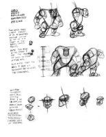 Ork Model Sheet by cronevald