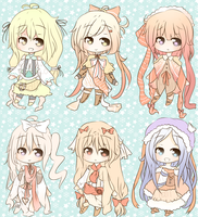 Adoptable BATCH Auction 2 [Set 2] [CLOSED] by KokoMall