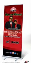 Rollup Stand Selamat Datang Aspire by mietony