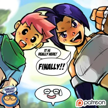 YES WE ARE ON PATREON by smallguydoodle