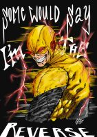 Eobard Thawne-Reverse Flash by DSirPenguin