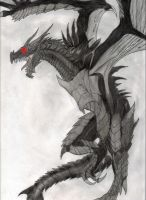 Alduin the world eater by darkHunter92