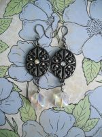 Iridescent Enchantment Earrings by AriesNamarie