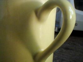 Heart shadow on a mug by Mysteriouspizza