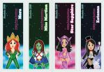 DC Comic Heroines Bookmarks Part 2 by DannimonDesigns