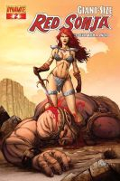 Giant Size Red Sonja 2 by EDGARSALAZAR