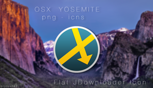 JDownloader Icon YOSEMITE by briquet42