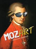 Wolfgang Amadeus Mozart by AYDeezy