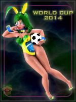 -World Cup Bunny 2014- by ken1171