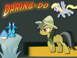 Daring Do Wallpaper by VeiledPoet
