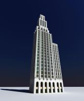 Art Deco Tower by nixaster
