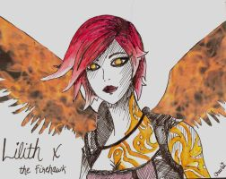 Lilith - The Firehawk by iWildBlood