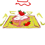 Coloring the Shortcake c: by ImaginingJackie