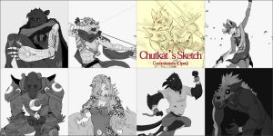 Sketch Commisions Open (Full) by chutkat