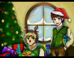 LotR:Happy Holidays by freesh00t