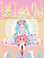 Strawberry Sweet Girl by SritaBlue