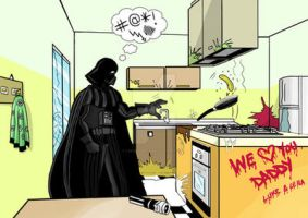 The Dark Side of the kitchen by luigiquarta
