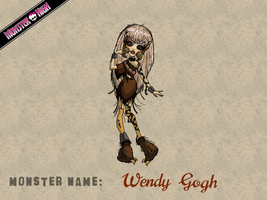 Monster High - Wendy Gogh by E-raserhead