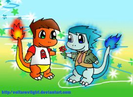 Ectofeature charmander style by VOLTAREVILGIRL