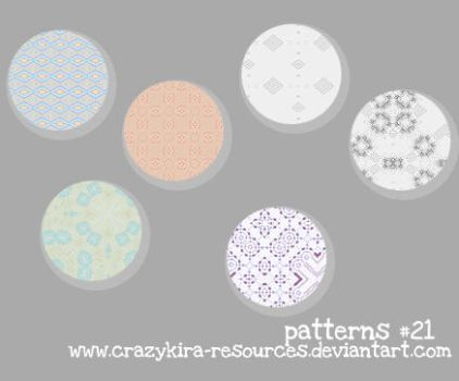 Patterns .21 by crazykira-resources