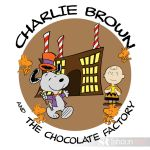 Charlie Brown and The Chocolate Factory by shaunriaz