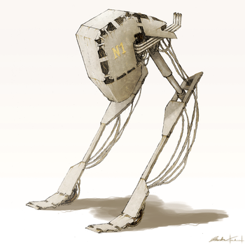 Mech Concept by freakyphil1