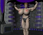 Female Muscle Growth Animation by grycat20