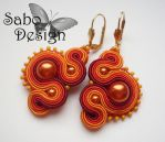 TEXCOCO - soutache earrings by SamanthaBossy
