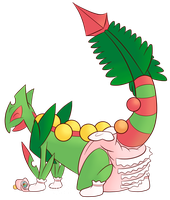 PokePadded - Mega Sceptile by the--shambles