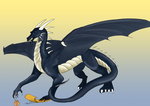 Phoe commision-Santark Dragon by IcyPheonix