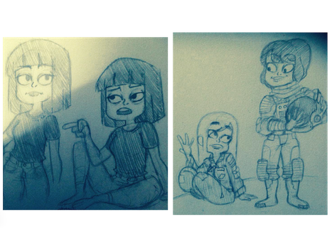Sketches by TheGuyInTheLeft