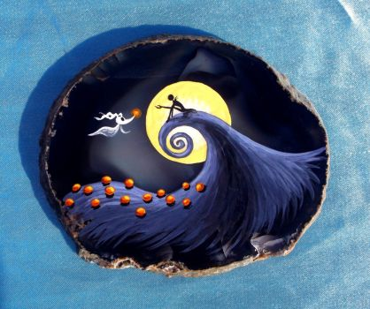 Nightmare Before Christmas on Agate by Nevuela