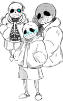 Sans Boy by Steamed-Bun