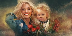 Happy Mother by Amro0
